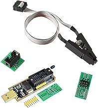 AiTrip CH341A 24 25 Series EEPROM Flash BIOS USB Programmer + SOIC8 SOP8 Clip Adapter Module