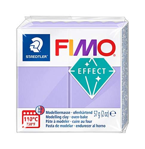 Staedtler - Fimo Effect - Pain Pte à Modeler 57g Pastel Lilas