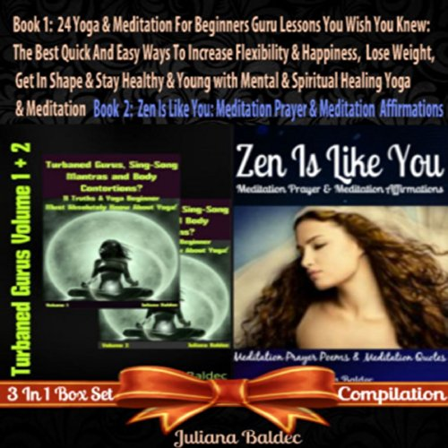 Yoga and Meditation for Beginners Guru Lessons audiobook cover art