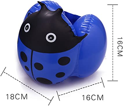 GudeHome Mariquita inflable brazaletes de nataci/ón giros brazaletes de agua seguridad airbags flotar mangas para ni/ños