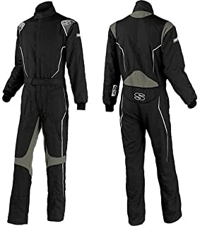 Simpson HXY2121 Helix Youth Suit Small Black/Gray