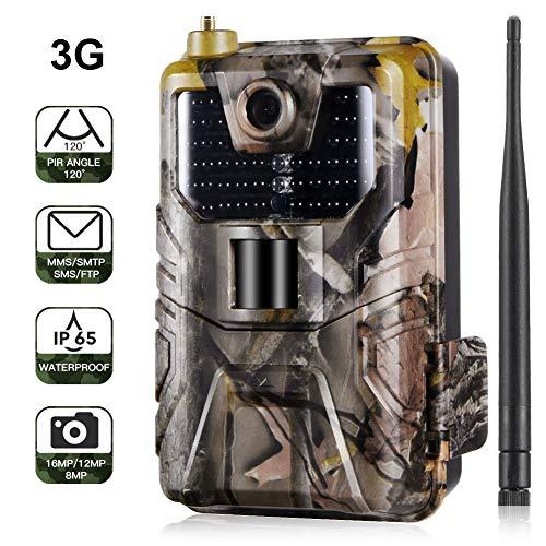 Cámara de caza 3G 2G Cámara de vigilancia de vida silvestr