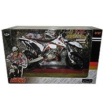 KTM 300 EXC Dirt Bike 6 Days Germany Saxony Motorcycle Model 1/12 by Automaxx 603801 by Automaxx [並行輸入品]