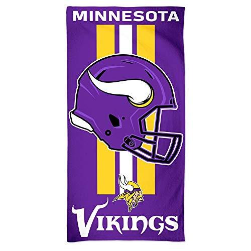 McArthur NFL Strandtuch 150x75 cm Minnesota Vikings