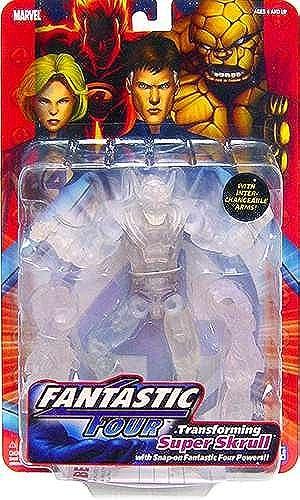 Fantastic Four Classics Series 1 Super Skrull - Clear Variant - Toybiz