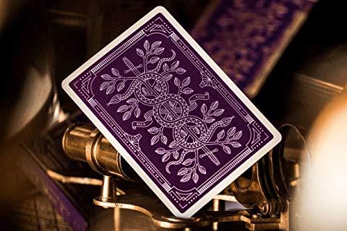 Theory Mazzo di Carte Monarch Royal Edition Purple