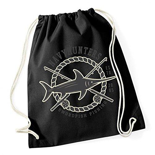 Certified Freak Swordfish Fishing Gymsack Black