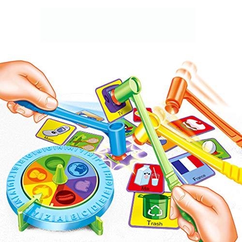Bonbela Fun Marteau Sucker Jeu Enfants Mémoire Pensée Logique capacité de Formation de Table Parent-Enfant Mot Jouets Jeu interactif