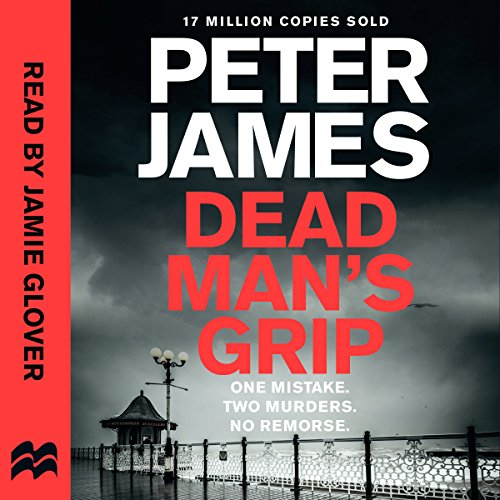 Dead Man's Grip audiobook cover art