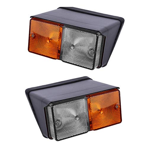 Bajato Paar Vorne Blinker-kontrollleuchte Kotflügel vorne Licht für Traktoren 12V