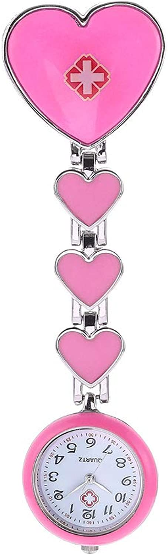 Nurse Hanging Watch HeartShaped Wall Watch Alloy Dial