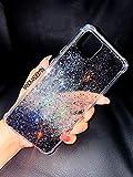 iPhone 11 pro case, Black Silver Holographic Diamond Glitter...