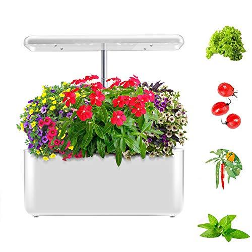 FDYD Indoor Kräutergarten-Kit, hydroponischen Garten, automatische LED-Beleuchtung Automatische Timer, in-Haus Smart-Garten frische Kräuter & Gemüse-Pflanzer