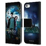 Ufficiale Harry Potter Ron, Harry & Hermione Poster Prisoner of Azkaban IV Cover in Pelle a Portafoglio Compatibile con Apple iPhone 5c