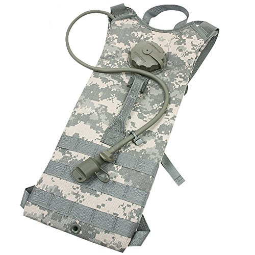 Specialty Group Inc. New Made in USA Military Army Tactical MOLLE II ACU Digital Hydramax Trinksystem Wasserrucksack, mit 100 oz 3 l Blase von US Regulment GI USGI