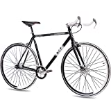 "KCP 28"" RENNRAD Fahrrad FG-1 Bullhorn Fixed Gear Single Speed"