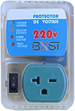 BSEED US Plug Home Appliance Surge Protector Voltage Brownout Outlet 220 V 4400 WATTS 1 Pack