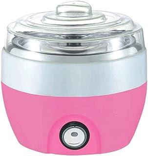 WGNHM Automatic Household Yogurt Machine Large Capacity Natto Machine Multifunctional Rice Wine Machine (Color : Pink)
