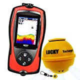 Best Canoe Fish Finders - Lucky Wireless Fish Finder with Fish Attractive Light Review