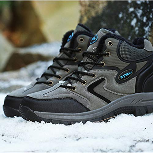 Impermeable Y Transpirable Botas De Montaña Zapatos Deslizamiento Resistente Al Desgaste para Unisex Enviar Calcetines Gris 42 EU