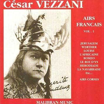 César Vezzani : Airs français, vol. 1
