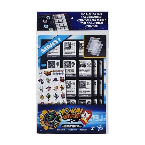 Yo-Kai - Pagine per Album da Collezione Watch Medallium (Serie variabile)
