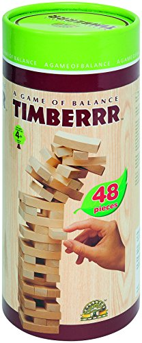 FIRST LEARNING - A1502503 - Jeu Equilibre Bois - 48 Pièces