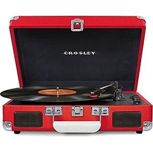 Crosley - Tocadiscos spinerette rojo: Amazon.es: Electrónica