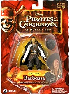 Battling Barbossa with Removable Coat, Hat and Sword