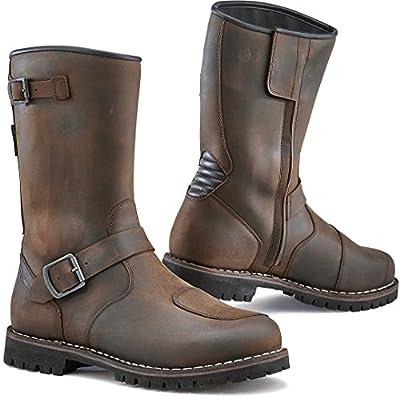 TCX Men's Motorcycle Boots (Vintage Brown, men11 d(m) us=45eu)