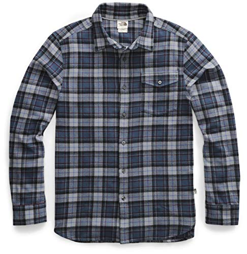 The North Face Men's Arroyo Long Sleeve Flannel Shirt, Blue...