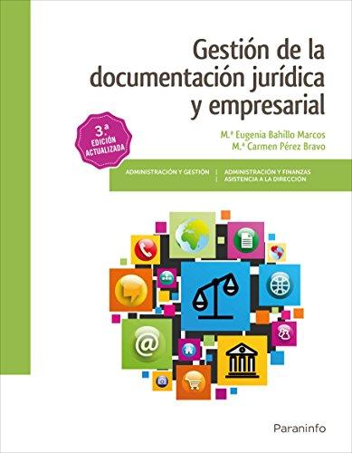 Gestión de la documentación jurídica y empresarial 3.ª edición