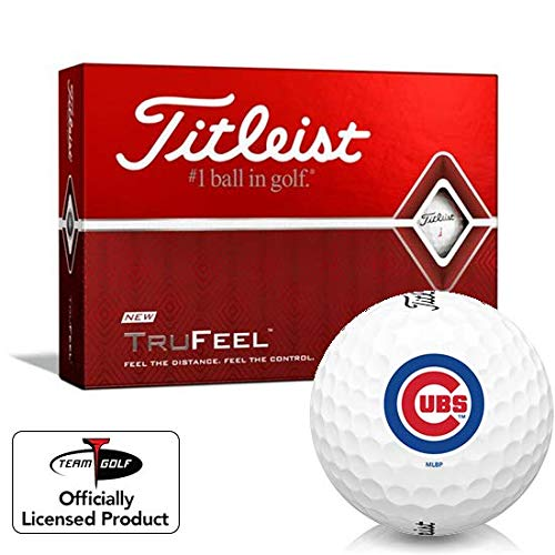 Big Save! Titleist TruFeel Chicago Cubs Golf Balls