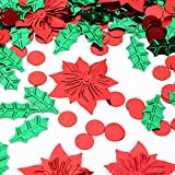 FOTABPYTIConfeti de Mesa,(Holly + Red Flower)