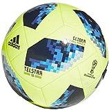 Adidas Ballon de football Coupe du monde de football 2018Russie pour enfants 8-12ans Ballon de tournoi Taille 4