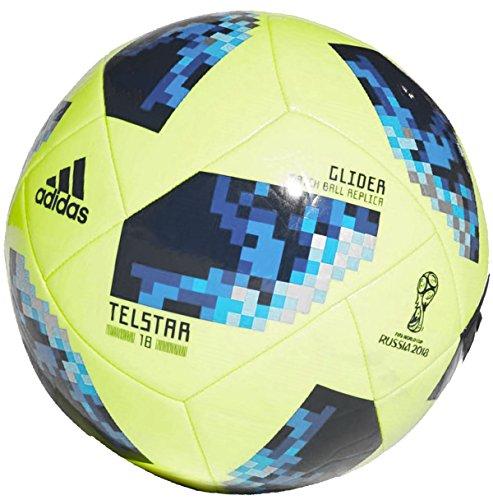 Adidas - Balón de fútbol de la Copa Mundial de Rusia 2018 para niños de 8 a 12 años, (talla 4), diseñado para el campeonato de Rusia
