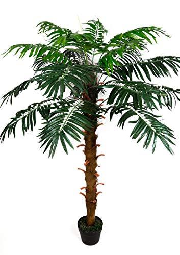 Phönixpalme 140cm ZJ künstliche Pflanzen Palmen Palme Kunstpalmen Kunstpflanzen Dekopalme