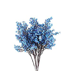LISENNER 6PCS Baby Breath Flowers Bush Artificial Gypsophila Silk Real Touch Blooms for Wedding Garden Home Party DIY Decoration Arrangements