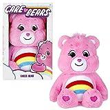 Care Bears Juguete de Peluche Suave de 14 Pulgadas Cheer Bear con Moneda