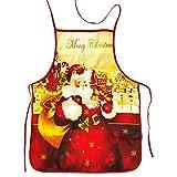 UBERMing Grembiule Natalizio Grembiule da Cucina Unisex Babbo Natale Grembiule Cucina Grembiule per Natale per Cottura Barbecue Natale Ristorante Casa Cucina Forniture