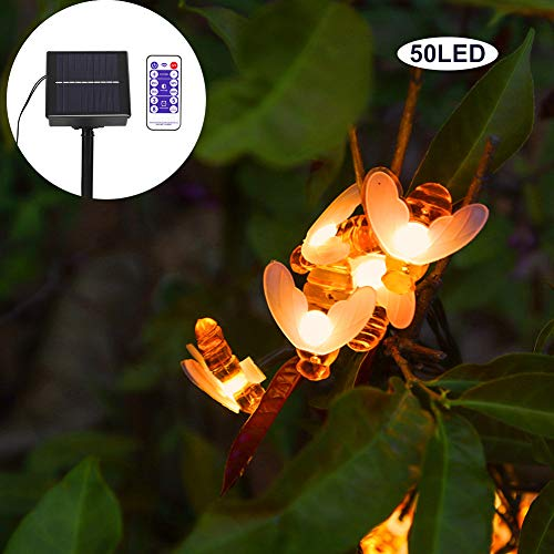 Fabater Waterproof Fairy Lights for Garden for Outdoor Wedding Party, bee String Lights, Fairy Lights
