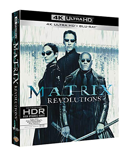 Matrix Revolutions (Blu-Ray 4K Ultra HD+Blu-Ray) [Italia] [Blu-ray]