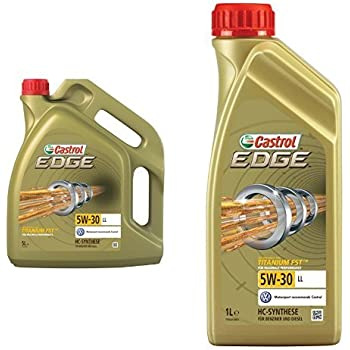 6x 1 L 6 Liter Castrol Edge Fluid Titanium 5w 30 Ll Motoröl Auto