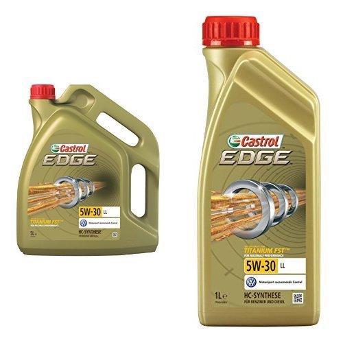 Castrol EDGE 5W-30 LL Motoröl 6L (5+1L)