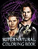 Supernatural Coloring Book: Supernatural Special Coloring Books For Adults, Teenagers. Relaxation And Stress Relief