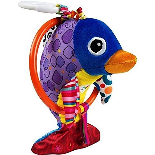 Lamaze Baby Spielzeug Dan, der flippige Delfin Clip & Go | Hochwertiges Kleinkindspielzeug | Greifling stärkt Eltern-Kind-Bindung | Ab 0 Monate