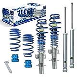 JOM Car Parts & Car Hifi GmbH 741072 Blueline Gewindefahrwerke