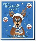 Fan-Shop Sweets FC Hansa Rostock - Calendario de Adviento 2019, multicolor, talla única