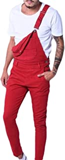 CYJ-shiba Mens Running Sport Jumpsuit Sleeveless Button-Down Bodysuit Overalls