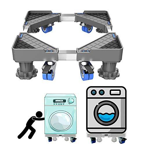 MIAOLEIE Lavadora Chasis Ajustable Refrigerador Móvil-Frigorífico-Stand Refrigerador-Base Lavadora-Soporte De Frigorífico Soporte De Montaje